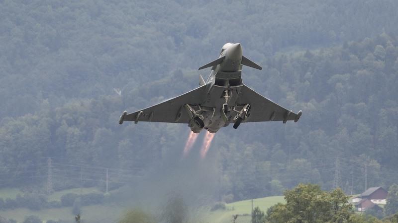 Un Eurofighter español dispara accidentalmente un misil durante un simulacro en Estonia