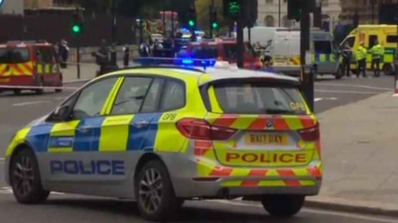 Dos heridos y un hombre detenido tras chocar su vehículo contra las barreras del Parlamento en Londres