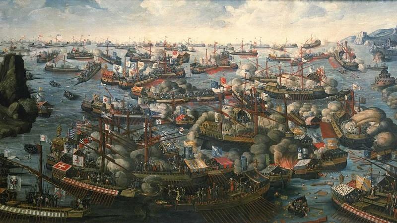 La batalla de Lepanto: la mayor batalla naval de la historia