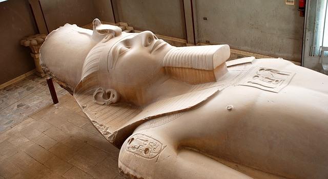 Memfis Escultura de Ramses II