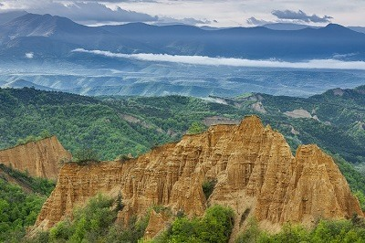 Las Piramides de Melnik en Bulgaria