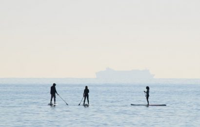 Paddle Surf: el deporte de moda este verano