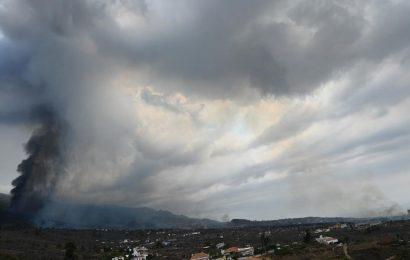 Erupción volcanica en La Palma